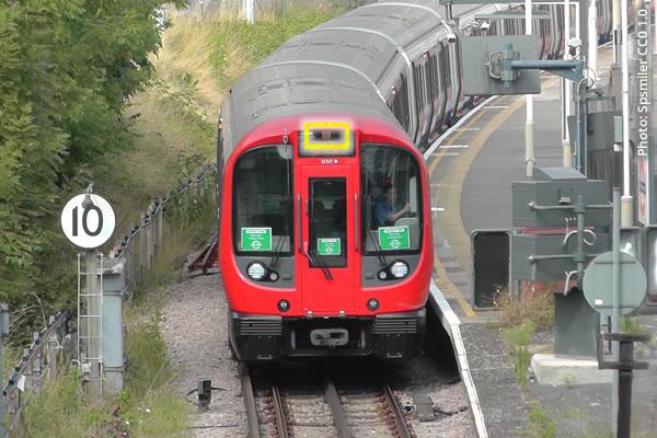 District Line train