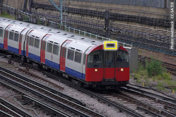 Piccadilly Line train