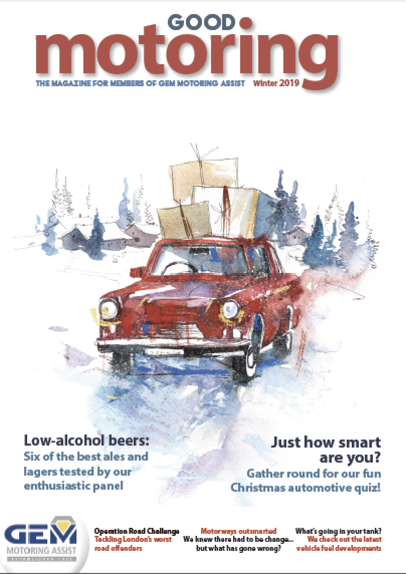 Good Motoring, Winter 2019: A feature on smart motorways including the history and current safety issues.